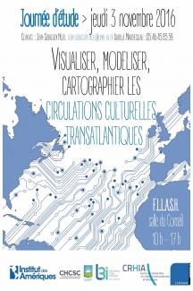 Visualiser, modéliser, cartographier les circulations culturelles Transatlantiques
